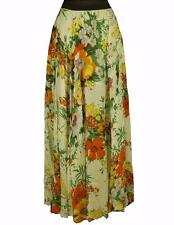 Free People Floral Maxi Dress Skirt 2 4 6 Small