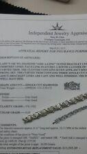 WG and Platinum Jabel Diamond Bracelet