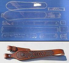 Cobra Style Custom - Rifle / Shotgun Sling Template Set For Leather Crafters