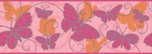 Wallpaper Borders Children's Bedroom pre-pasted designer York BS5406B glitter