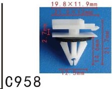 20Pcs Fit GM 11518988 Nylon Fender Spoiler & Roof Rack Moulding Clip With Sealer