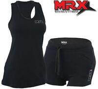 Women Ladies Fitness Sports Tank Top Gym Training Shorts Yoga Athletic Vest Suit