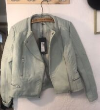 LIMITED EDITON- Marks and Spencer's Faux Leather Jacket Size 12. BRAND NEW