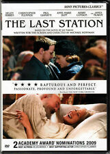 THE LAST STATION Movie on DVD of LEO TOLSTOY a RUSSIAN AUTHOR with HELEN MIRREN!