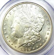 1898-S Morgan Silver Dollar $1 - Certified PCGS AU55 - Rare Date - Near MS UNC!