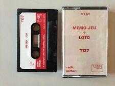 THOMSON TO7 MEMO - JEU + LOTO