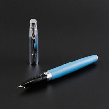 Baoer 100 Sky Blue Fountain Pen Extra Fine Nib
