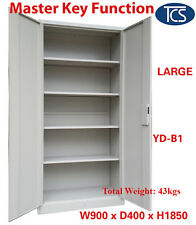 NEW METAL STEEL LOCKER STATIONERY CABINET FILE CUPBOARD