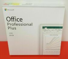 Microsoft Office Professional Plus 2019 Retail Dvd + Product Key