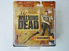 The Walking Dead Deputy Rick Grimes Figure Series 1 McFarlane Toys 2011 MOC