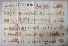 RARE JOURNAL LE BAVARD ILLUSTRÉ de 1899 MARSEILLE à TRAVERS LES AGES  N° SPÉCIAL