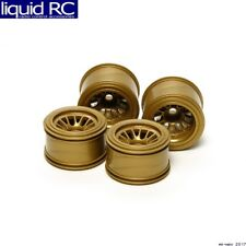 Tamiya 54527 RC F104 Mesh Wheels Set - Gold