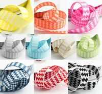 15mm Chevron Ribbon - Double Sided Zig Zag High Quality Italian Options Trim
