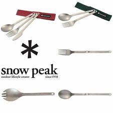 Snow Peak Titanium Cutlery