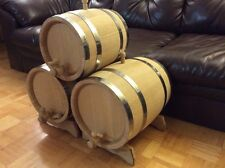 Oak barrels, 5L, true oak quality