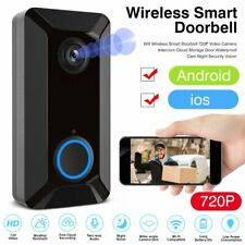 Two-Way Wireless Door Bell WiFi Video IR Doorbell Talk Smart Security HD Camera
