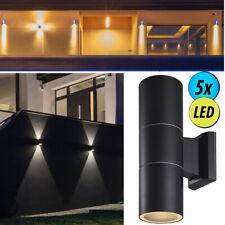 3 x LED Außen Wand Leuchte Strahler Beleuchtung Haus Tür ALU Spot Lampe UP /&Down