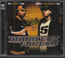 2 CD COMPIL 50 TITRES--DOUBLE FACE 5--DJ KOST & DJ GOLDFINGERS R'n'B & HIP HOP