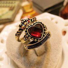 Modeschmuck-Ringe aus Legierung mit Herz-Schliffform