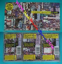 3 mc CLAUDIO BAGLIONI a live A-LIVE 1998 SIGILLATA holland COLUMBIA no cd lp dvd