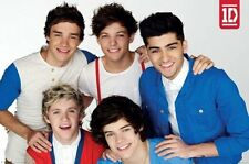 One Direction Red White Blue POSTER 61x91cm NEW Niall Harry Zayn Louis Liam band