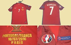 portugal 2016 jersey shirt eurocup FINAL cristiano ronaldo playera euro 2016