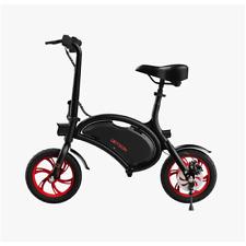 "Jetson Bolt Electric Compact Commuter Bike 12"" wheels Black/Red JBOLT-RED"