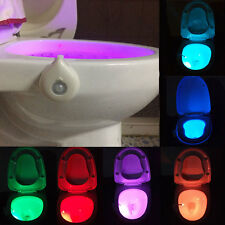 LED Toilettendeckel WC Sitz Klobrille Toilettensitz Klodeckel Disco licht IP65