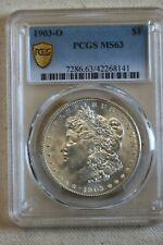1903 O Morgan Silver dollar PCGS MS 63
