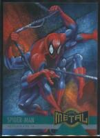 1995 Marvel Metal Trading Card #134 Spider-Man Keeps His Six Arms