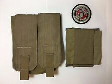 New Eagle Industries FSBEII 200 Round M249 SAW Pouch Coyote Brown