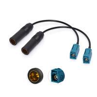 DAB Antenne Fakra Z auf DIN Kabel 2 St für Blaupunkt Audi BMW Ford VW Vauxhall