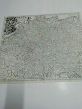 Karte von Deutschland. Um 1720. Hohmann.