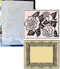 Roses & Frames embossing folder set - Sizzix embossing folders 657670
