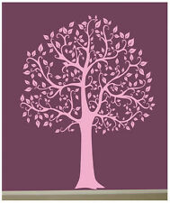 Wall Decal  6 FT. BIG TREE  in Light Pink Deco Art Sticker Mural