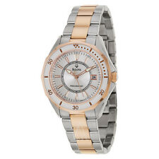 Bulova 98M113 Ladies Watch Two Tone Stainless Steel