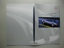 Audi A8 prestige Prospekt brochure English 34 pgs 1999 2000 USA