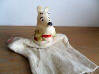 Marionnette de MILOU  par HERGE an'60'