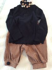 Beautiful Two Piece  Custom Outfit  Top And Knickers NWT Size 3T