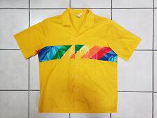 Vintage Endless Summber Camp Shirt, Yellow, Large