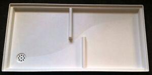 Fußabstreifer Schuhabstreifer Fußabstreiferkasten Bodenwanne Unterteil 100 x 50