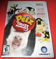 Petz: Crazy Monkeyz Nintendo Wii *Brand New! *Sealed! *Free Shipping!
