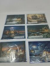 Lot 6 NIP Greeting Cards Christmas (d