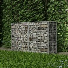 "vidaXl Gabion Basket Steel 59""x19.7""x39.4& #034; Garden Patio Wall Wire Fence Cage"