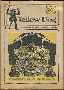 YELLOW DOG #8 - Underground/R. Crumb, Shelton - 1968 - (Grade VG+/F)WH