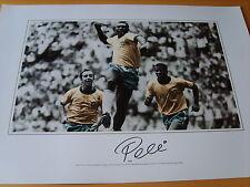Pele Genuine Autograph - UACC / AFTAL.