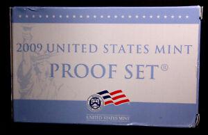 USA 2009 United States Mint Proof Set  #480005