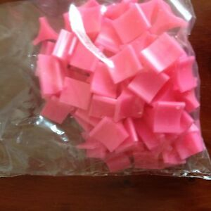 Risk Board Game, Batch Of Approx 60 Pink 'Army' Playing Pieces. Genuine Parker G