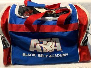 ATA Duffle Gear Bag Black Belt Academy Taekwondo Sparing Martial Arts & MMA Bag