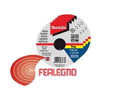 50PZ DISCHI DISCO TAGLIO PER FERRO DIAM115MM PER SMERIGLIATRICI ART.94435 MAKITA